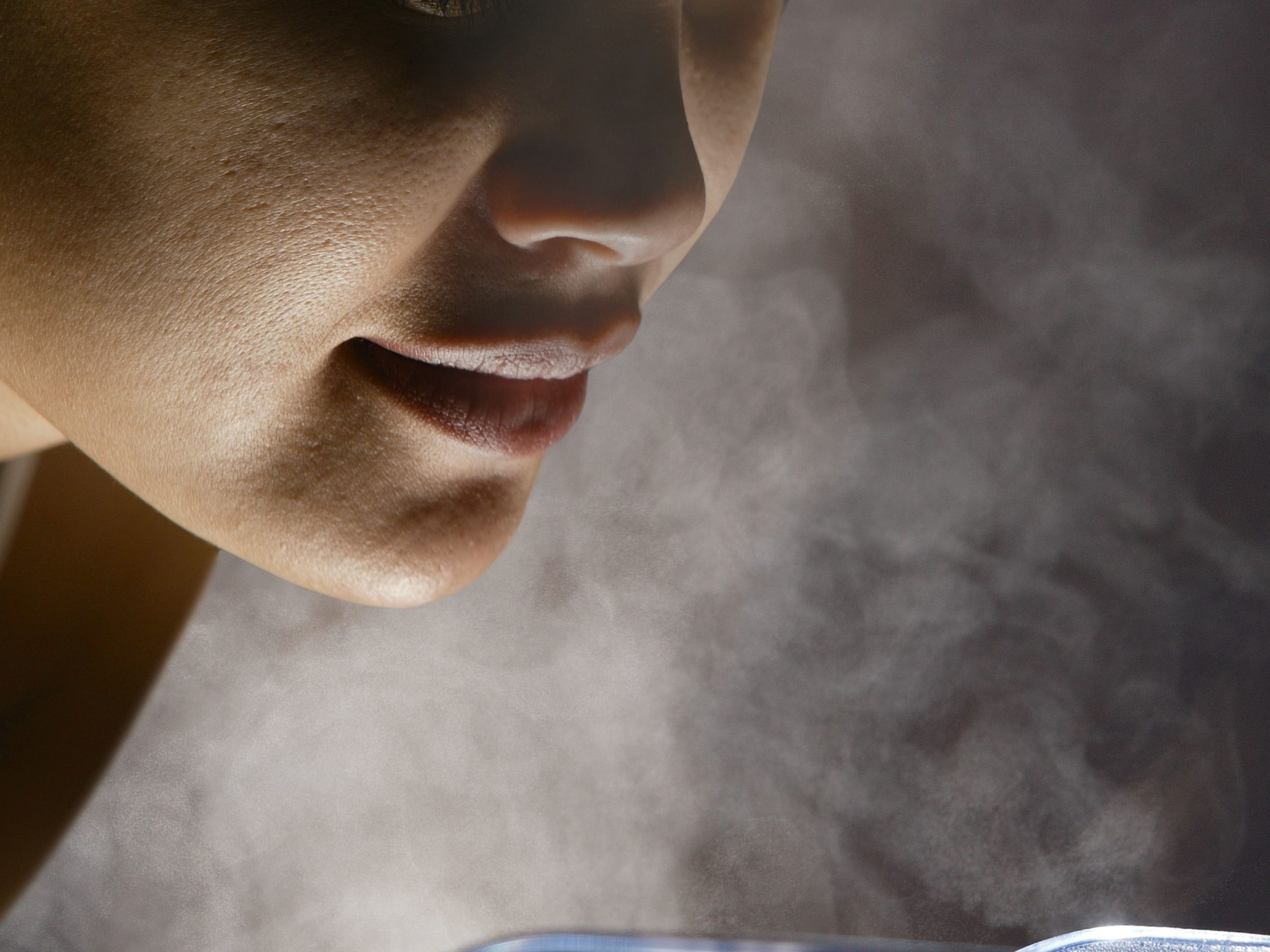 Chest Congestion Relief- Steam therapy