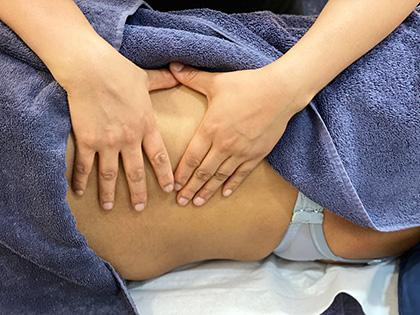 Hot Deep Tissue Massage