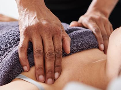 Lymph-drainage-massage