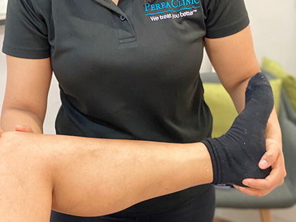 Sports Therapy Consultation & Treatment