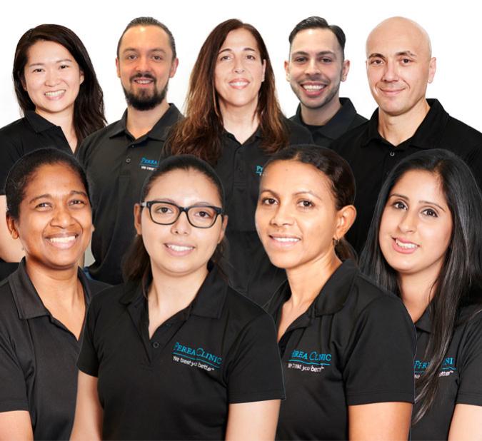 perea clinic team massage islington london